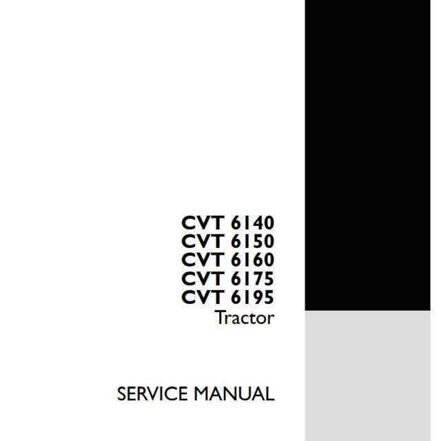 STEYR TRACTOR CVT 6140, 6150, 6160, 6175, 6195
