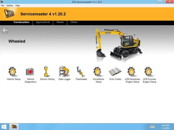 JCB ServiceMaster 4
