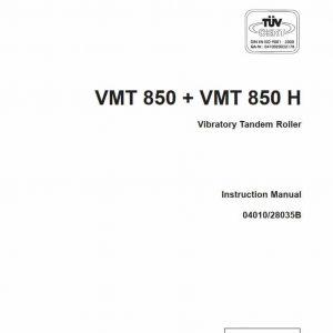 Vibratory Tandem Roller VMT850/850H