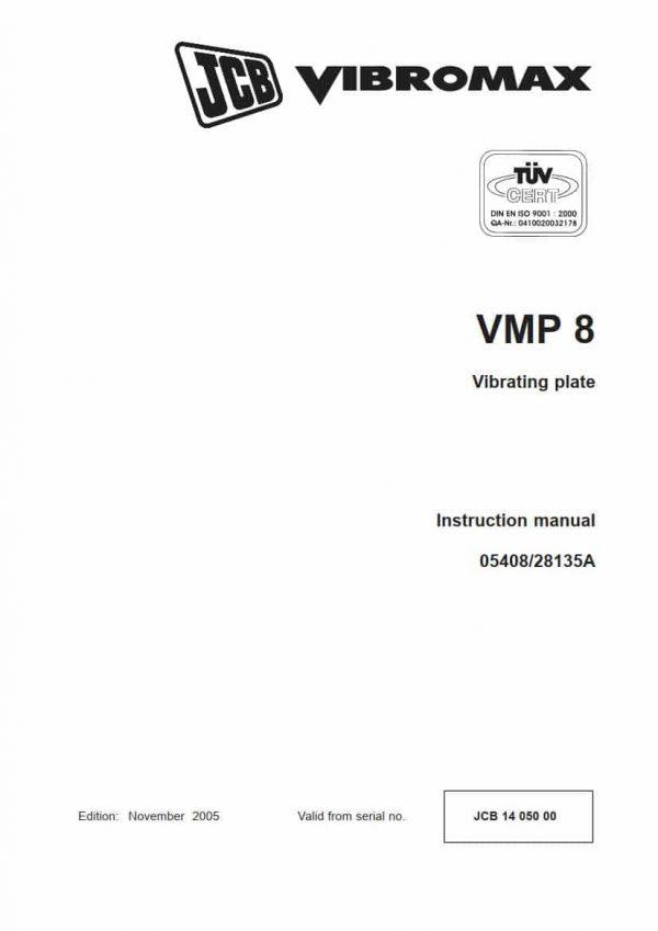 Vibrating plate VMP 8