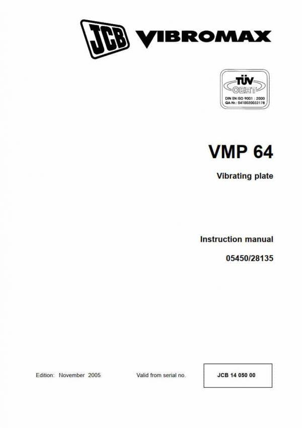Vibrating plate VMP64