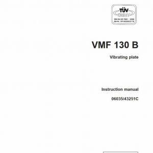 Vibrating plate VMF 130B
