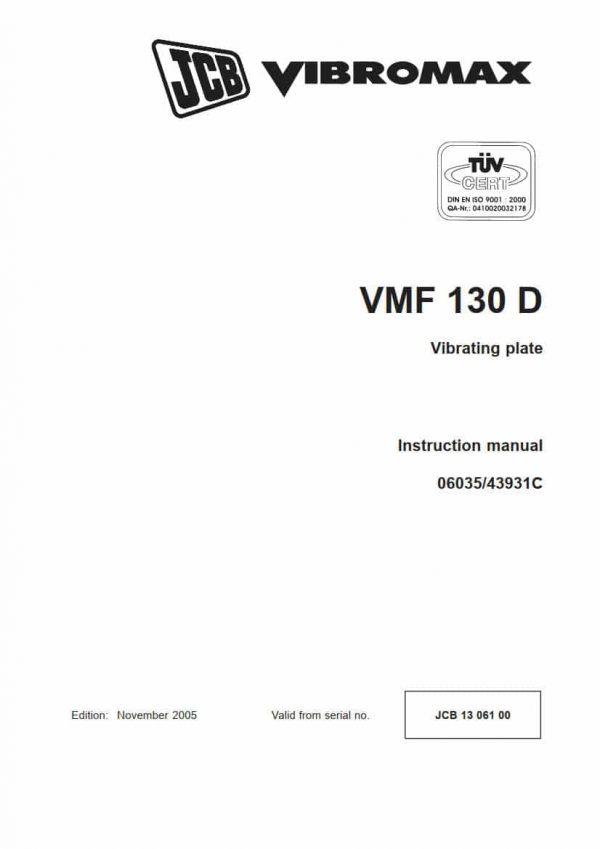 Vibrating plate VMF 130D