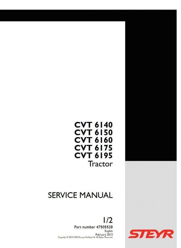 STEYR TRACTOR CVT 6140, 6150