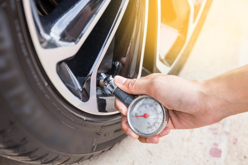 Drive safely - tire pressure