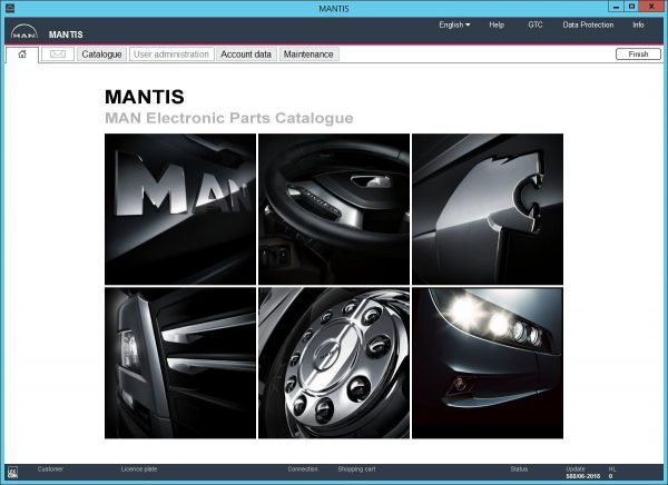 MAN MANTIS V606