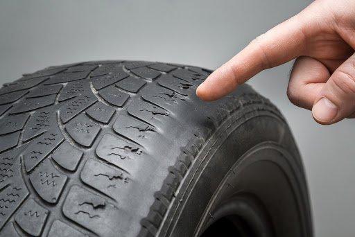 car tires tread wear