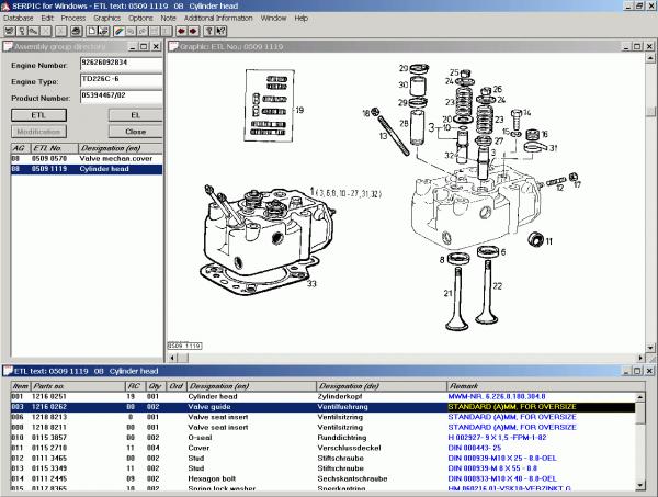 Deutz Serpic Parts Catalog
