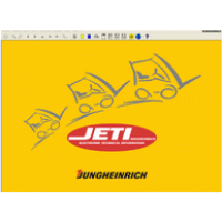 Jungheinrich forklifts Service manuals - Jeti Judit Diagnostic software.