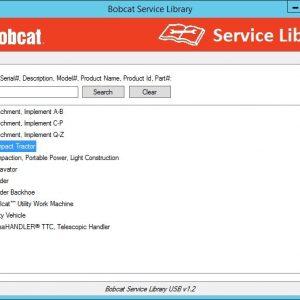 Bobcat Service Library