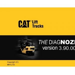 CATERPILLAR LIFT TRUCKS DIAGNOSTIC Kit