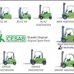 Parts catalog for Cesab