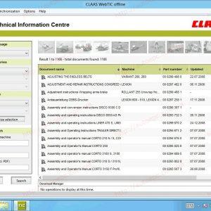 Claas WebTIC Offline