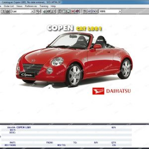 Daihatsuelectronic parts catalog