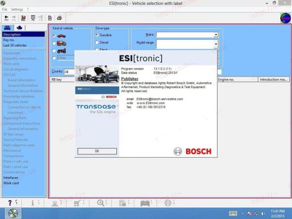 Bosch ESI 2016 3DVD