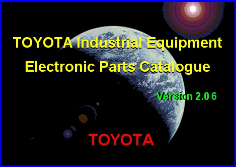 Parts Catalog Toyota Forklift Trucks